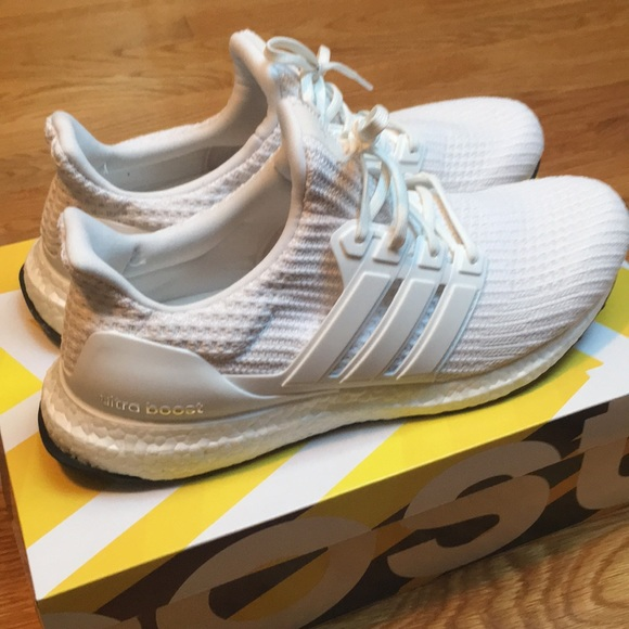 90c43756b adidas Other - Adidas Ultra Boost 4.0 in Triple White- Worn Once!